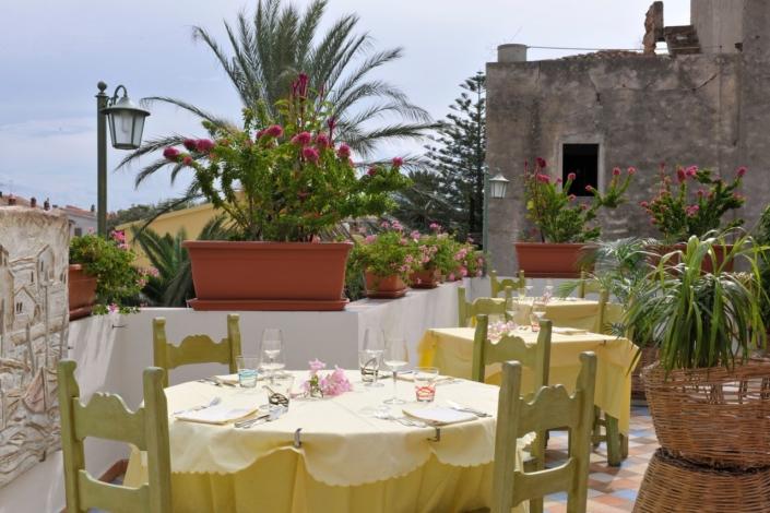 ristorante su barchile la terrazza