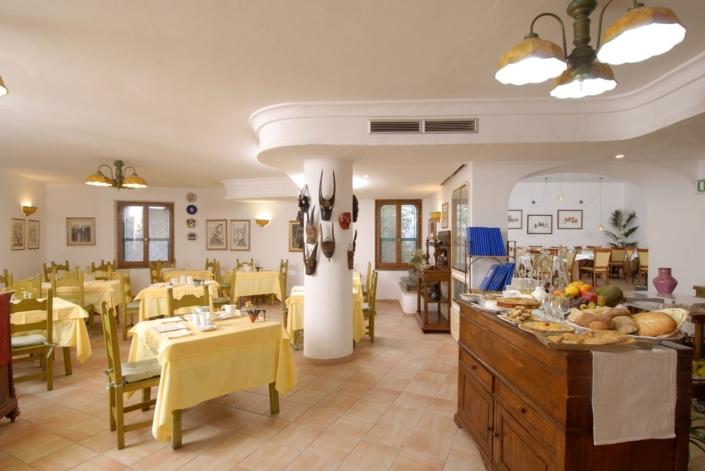 sala colazione e pizzeria su barchile